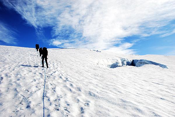 Island og Hvannadalshnukur.